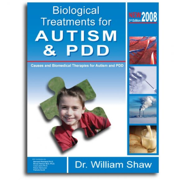 "Titelbild Buch ""Biological Treatments for Autism and PDD, Dr. William Shaw, Herkunft amazon."