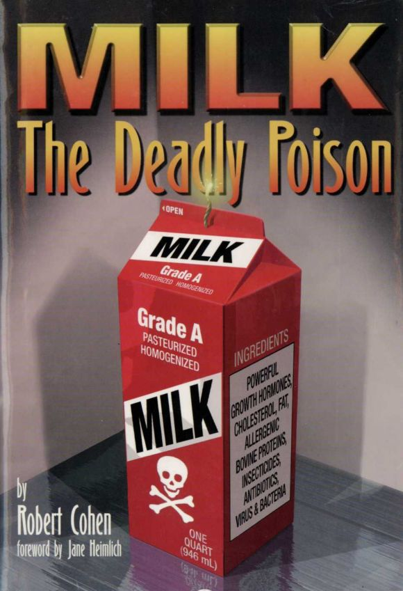 Titelbild Buch MILK The Deadly Poison von Robert Cohen