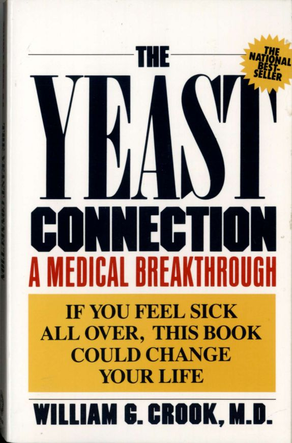 "Frontseite Buch ""The Yeast Connection"" von Dr. med. William G. Crook."