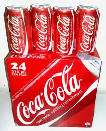 Coca-Cola 24-Can Pack, Photo Wikipedia/English version.