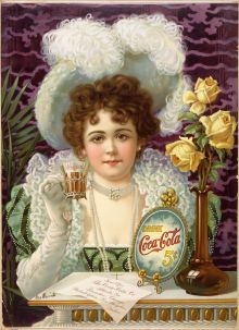 """Drink Coca-Cola 5-cents"", 1900, Wikipedia"