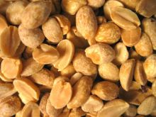 Roasted, salted peanuts. Leaves you wanting more and is unhealthy. Photo Flyingdream.