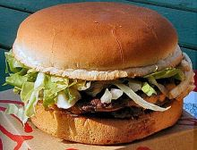 Hamburger. Photo Wikipedia, Ericd