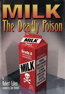 "Cover of book: ""Milk the deadly poison"" by Robert Cohen."