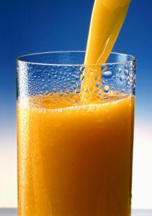 A glass of orange juice. Wikipedia/Juice/English.