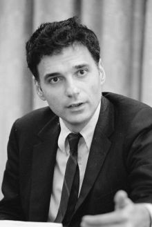 Ralph Nader, campaigner for consumer protection, in 1975. Photo: Wikipedia English