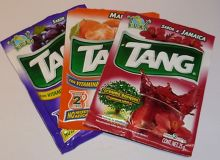 Tang drink packets. Wikipedia/Tang (drink). Source: Mondelēz International