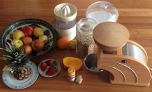 Everything that's needed to prepare the Erb-Muesli - except the bananas. Own photo.