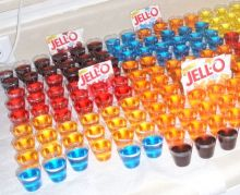 "Detail of photo of different flavors of ""Jell-O"". Photo: Wikipedia."
