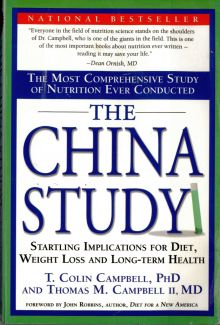 "Cover of book ""China Study"" by Prof. Dr. T. Colin Campbell."